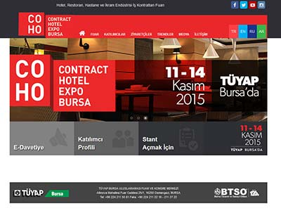 Contract Hotel Expo Bursa