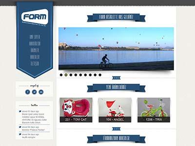 Form Bisiklet